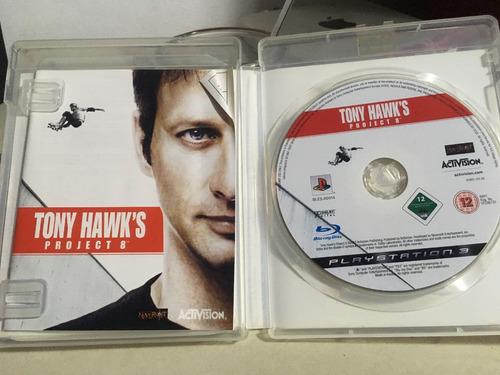 ps3 play tony hawks project 8 playstation 3