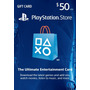 Psn Card 50 Usd - Playstation Network Card