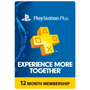 Playstation Plus 12 Meses - Ps3 / Ps4 / Psvita