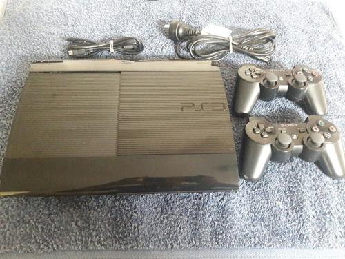 ps3 playstation sony slim! + 9 juegos  excelente estado!!!!