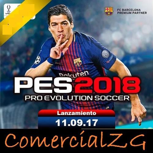 ps3 pro evolution soccer 2018 pes 18 ps3 digital caja vecina
