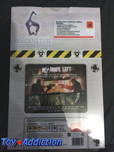 ps3 resident evil 6 collectors needle bomb envio gratis