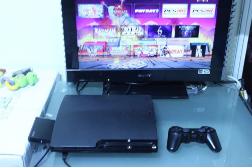 ps3 slim 120 gb desbloqueada