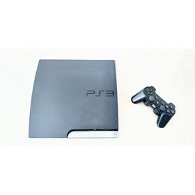 Ps3 Slim 160gb Original+controle+11 Jogos - Leia A Descrição