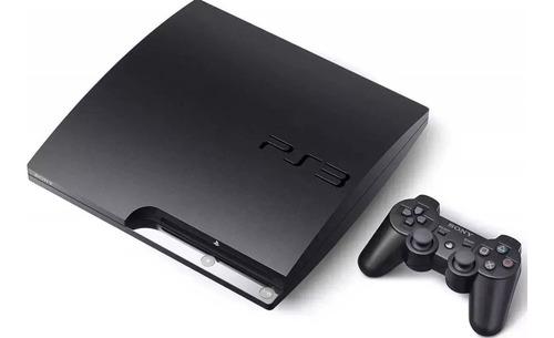 ps3 slim 320gb + 25 juegos + 1 joystick !! fifa 19 !!