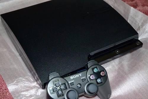 ps3 slim 320gb - control - 3d - impecable - 2 juegos
