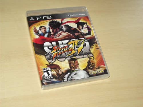 ps3 - super street fighter 4 (americano)