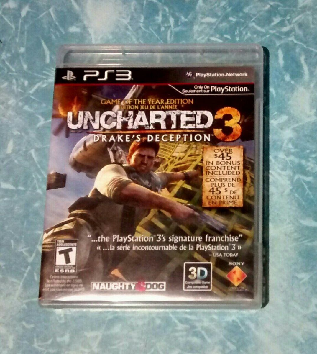 ps3 uncharted 3 - drake's deception