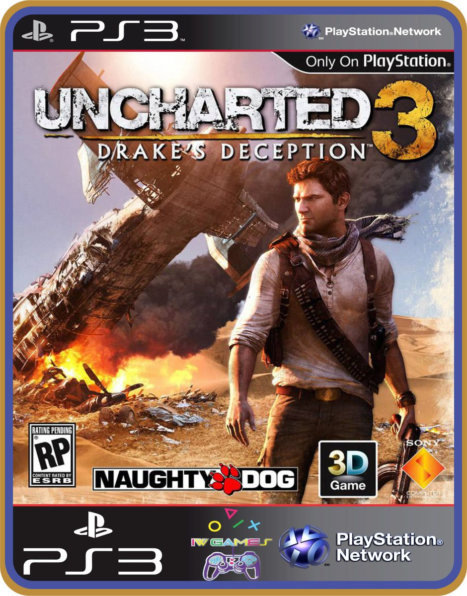 Uncharted 3 ps3 portugues uncharted 3 jogos ps3 no mercado livre.