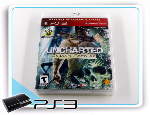 ps3 uncharted drakes fortune original playstation 3