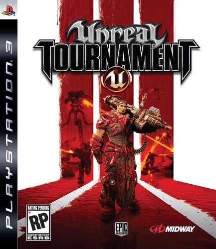 ps3 - unreal tournament iii (acepto mercado pago y oxxo)