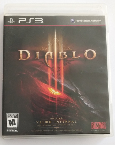 ps3 video juego _ diablo _ playstation3