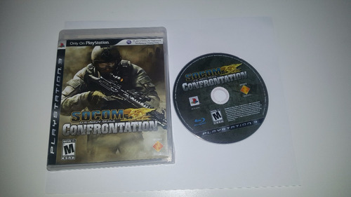 ps3 video juegos fisico socom confrontation