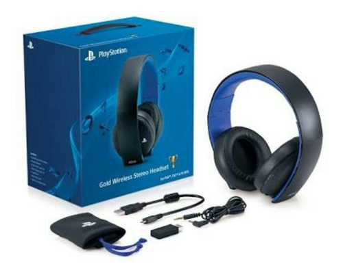ps4 2 controles headset gold