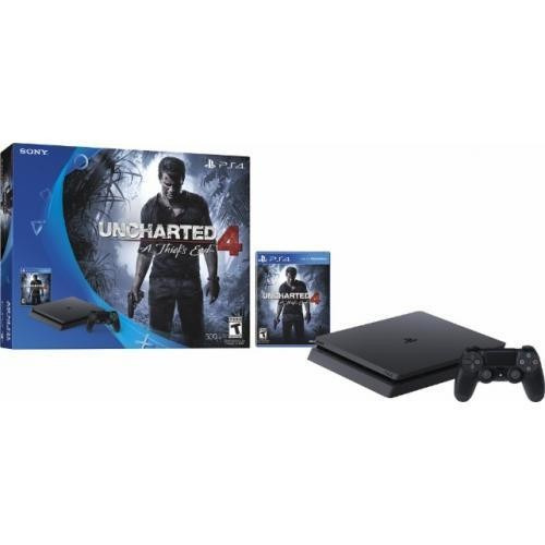 ps4 4 uncharted 500gb slim playstation soloventaslibre