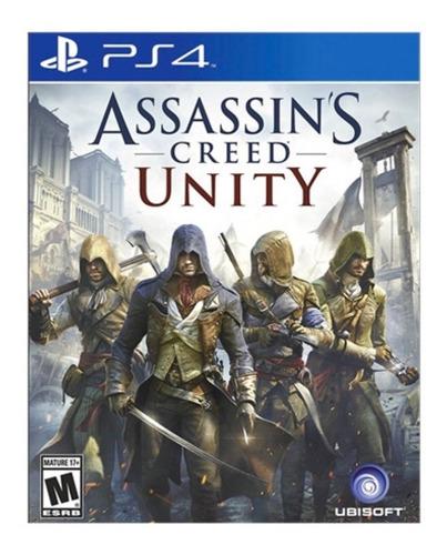 ps4 assassins creed unity nuevo y sellado