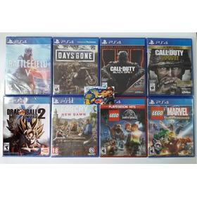 Ps4 Battlefield 5, Days Gone, Ww2, Lego Jurasi - Tiendatopmk