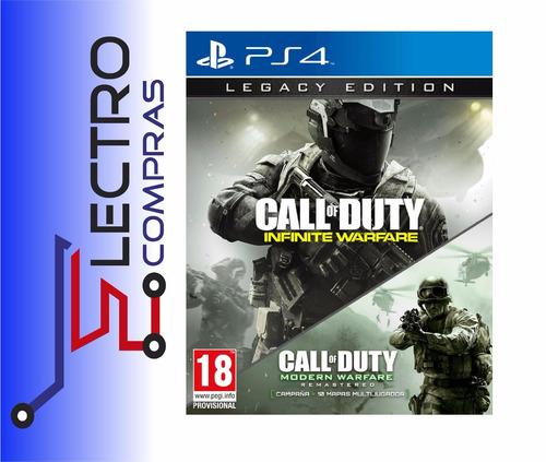 ps4 call of duty infinite warfare - legacy edition -discofis