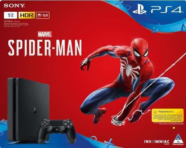 Ps4 Slim De 1tb Con Juego De Spiderman 2018 Nuevo Navidad Bs