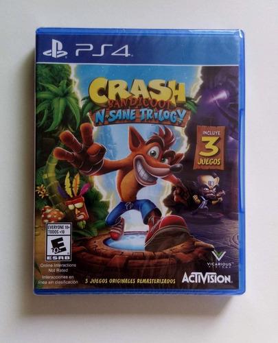 ps4 crash bandicoot 3 sellado play station 4 - tiendatopmk