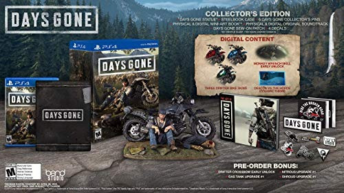 ps4  days gone collector s edition