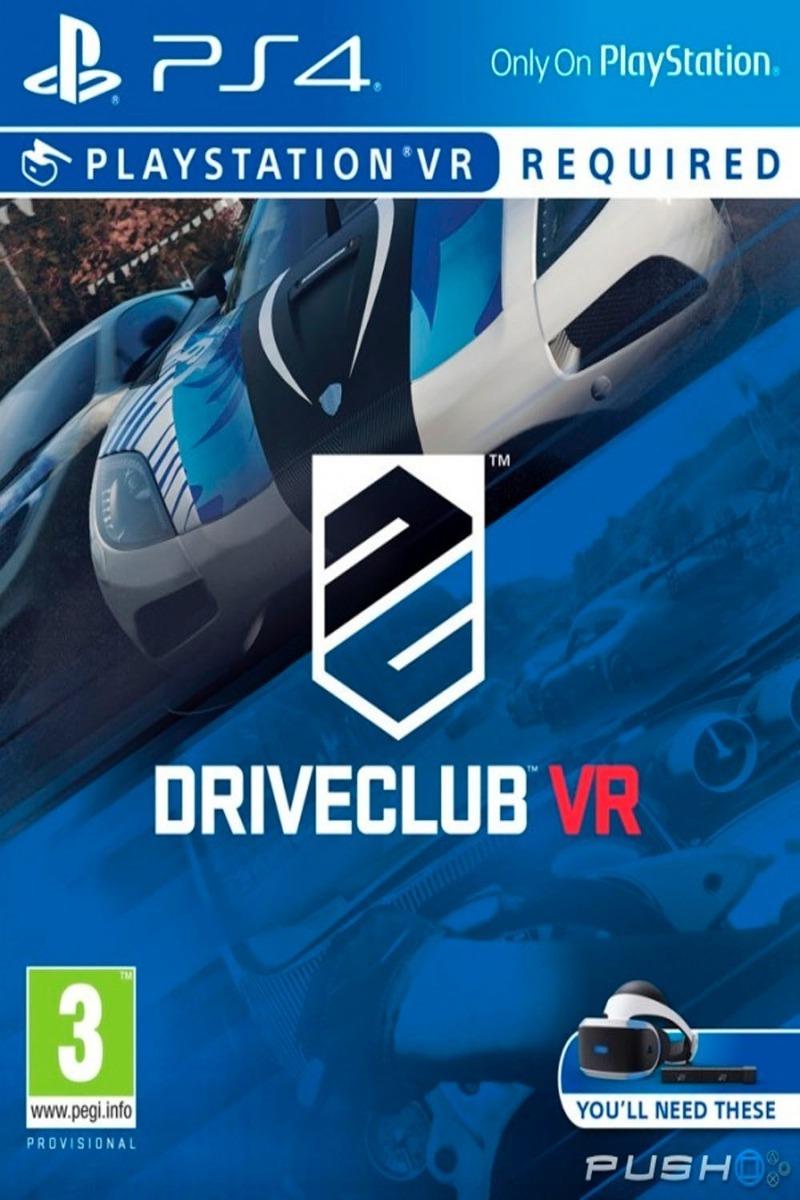 Ps4 Driveclub Vr Original Fisico Nuevo Sellado