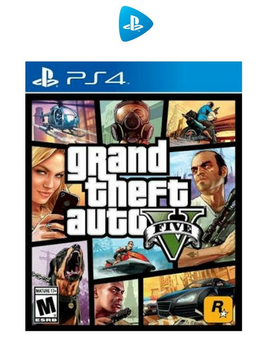 ps4 gta v rent 3 meses -dg-