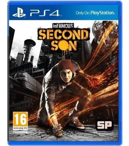 ps4  infamous: second son