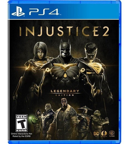 ps4 injustice 2 legendary edition ps4 4 nuevo