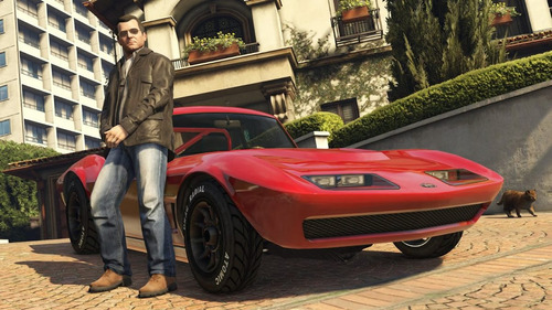 ps4 juego gta grand theft auto
