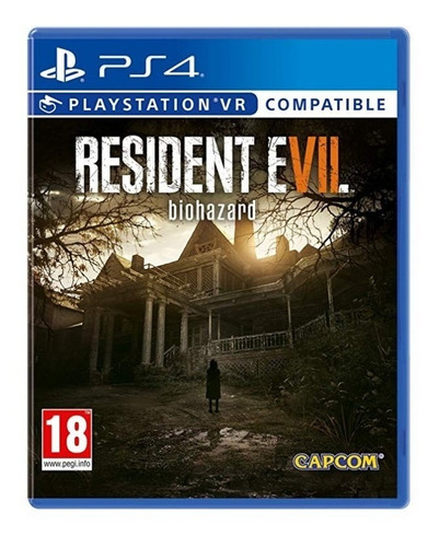 ps4 juego resident evil