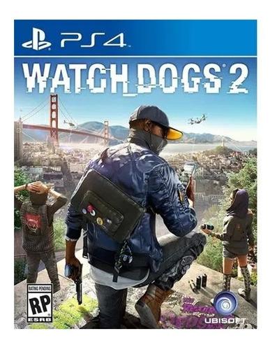 ps4 juego watch dogs 2 para playstation 4