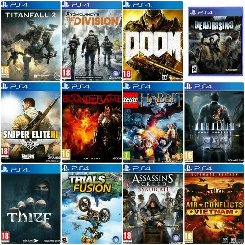 ps4 juegos nuevo sellado en oferta!!!!!