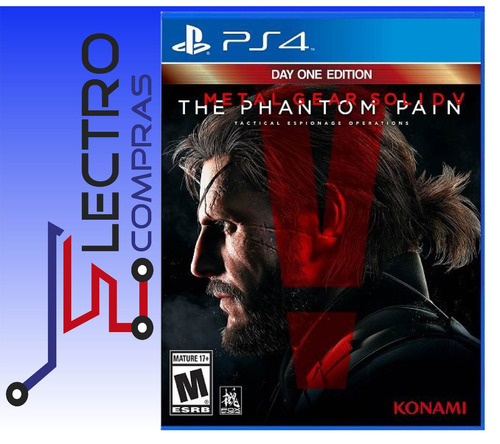 ps4 metal gear solid v the phantom pain ps4