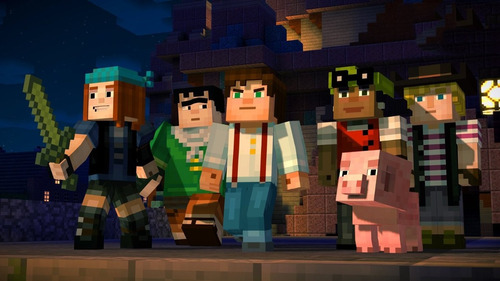 ps4 - minecraft story mode the complete adventure - nuevo ag