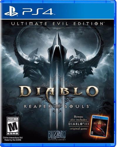 ps4 nuevo diablo 3 repear of souls ultimate evil edition