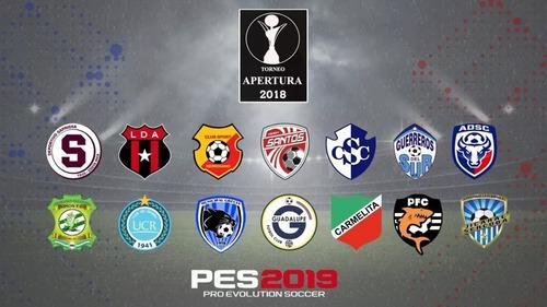 ps4 option file pes2019  v 10  + ligas sudamericanas