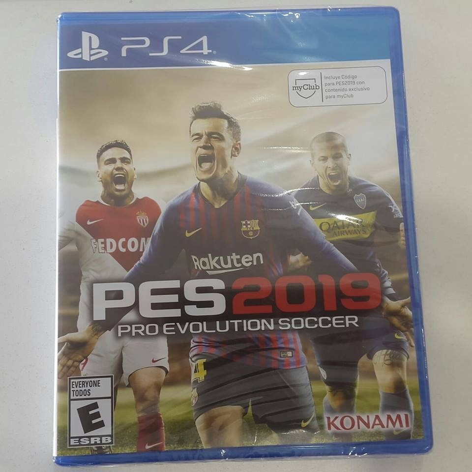Ps4 Pes 19 Pro Evolution Soccer 2019 Cd Fisico Juego Play 4