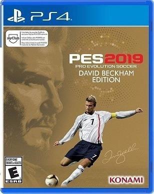 Ps4 Pes 2019 David Beckham Edition Original Estreno Fisico 9 495