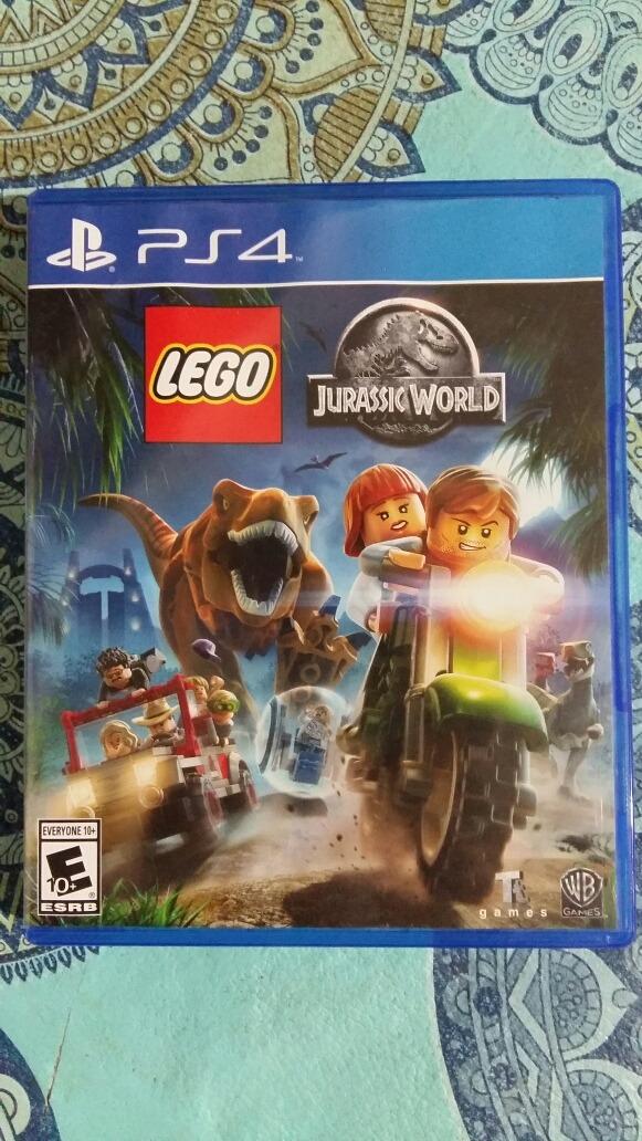 Ps4 Play Station 4 Lego Jurassic World Fisico Perfcto Estado 648