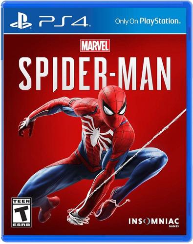 ps4 play station 4 slim 1tb + juego spiderman español latino
