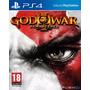 God Of War Iii Ps4 + Código De Playstation Plus 3 Meses Us
