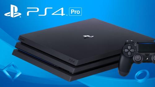 ps4 playstation 4 pro 7215b 1 tb 2 controles - pode retirar