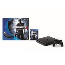 ps4 playstation 4 slim sony 500gb uncharted 4 pt entrega