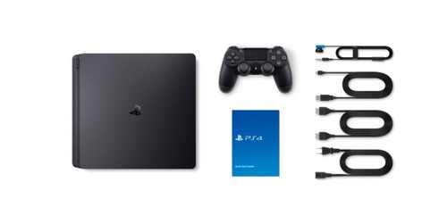 ps4 playstation 4 slim uncharted 4 ou 3 jogos 500gb