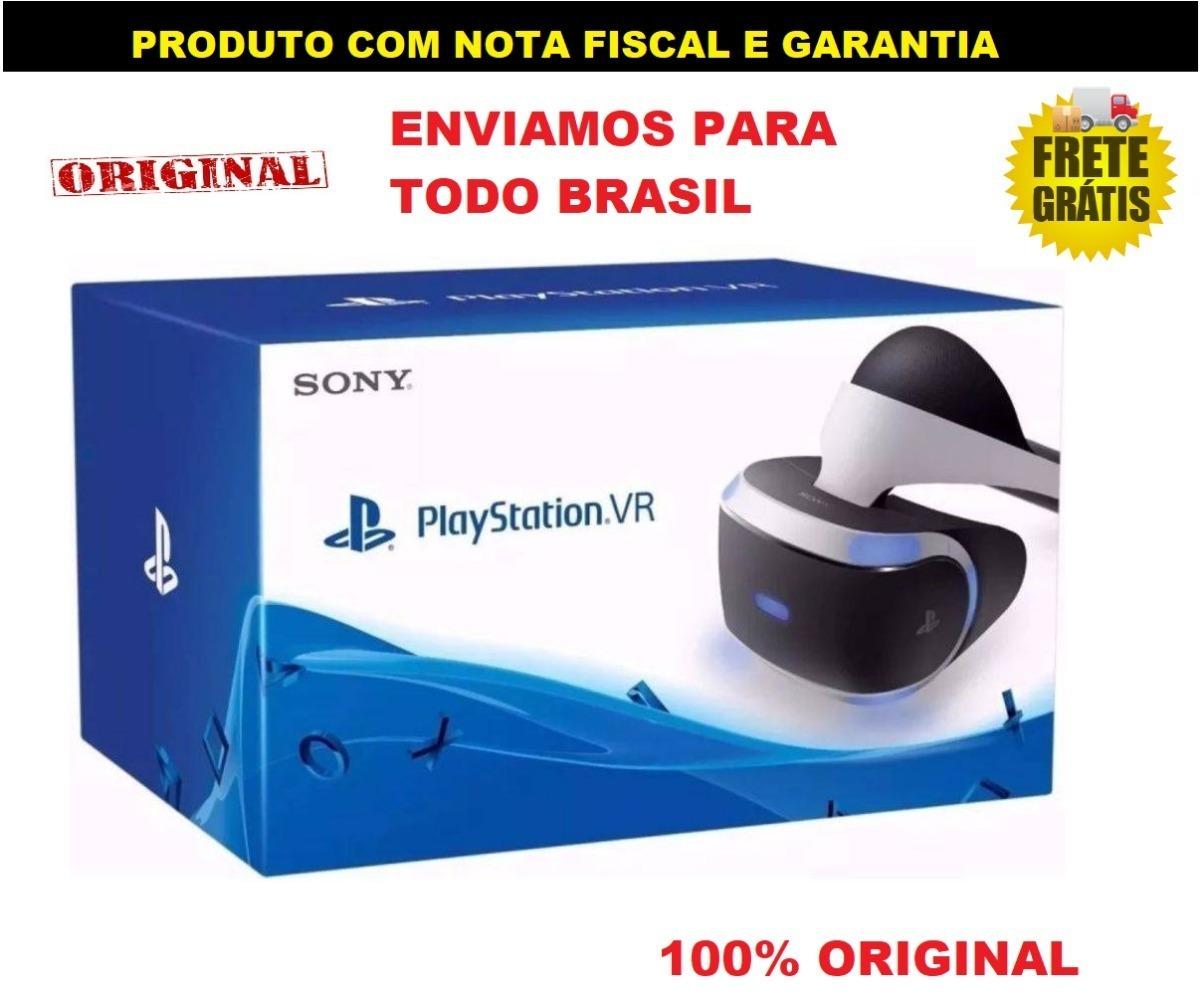 4a62187ee ps4 playstation vr óculos realidade virtual sony promoção. Carregando zoom.