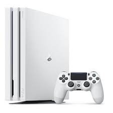 ps4 pro 1tb cuh-7116b  playstation 4 branco - novo. lacrado