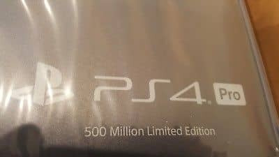ps4 pro 2tb 4k limited edition 500 million