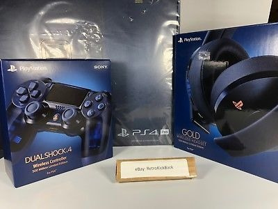 ps4 pro 2tb limited edition 500 million collectors bundle (i