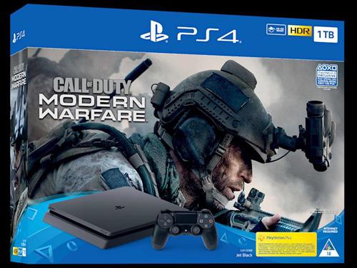 ps4 pro bundle cod modern warfare 1tb (12 meses de garantía)
